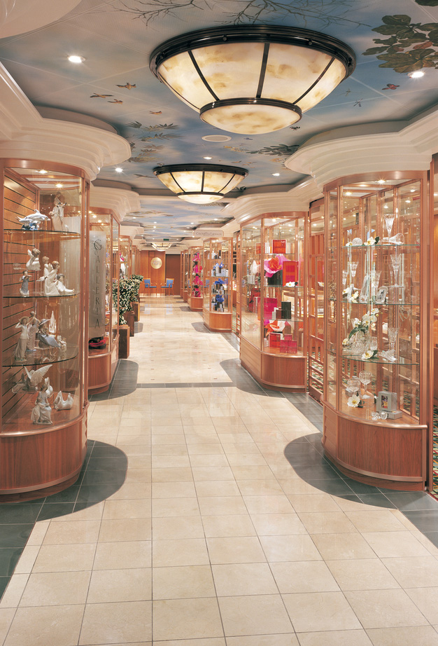 Shopping Onboard the Norwegian Sun